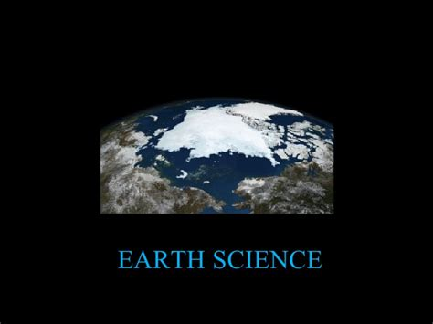 Section 1 1 What Is Earth Science by Earth Science