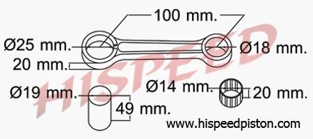 Stang Seherstang Piston Ts 125npp daftar connecting rod stang seher motor suzuki serba