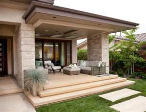 custom homes interiors contemporary patio san 30 favolosi esempi di porticati moderni mondodesign it