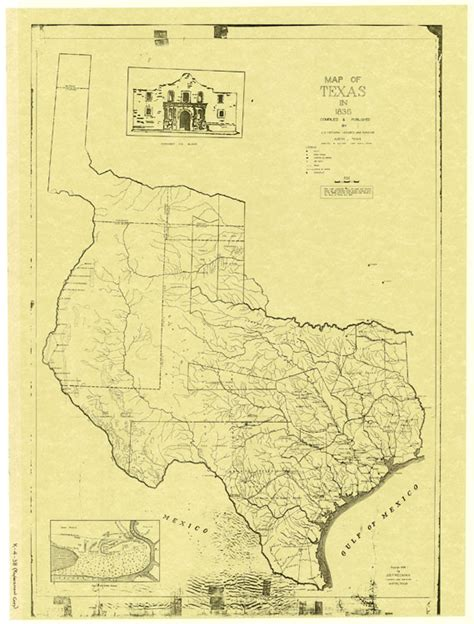 texas history map map of texas in 1836 texas tejano chioning tejano heritage and legacy