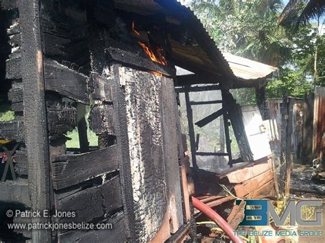 gutted house house gutted by fire in corozal belize news and opinion on www breakingbelizenews com