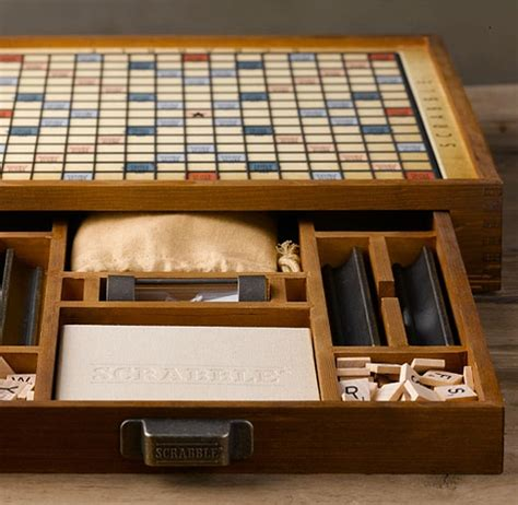 scrabble deluxe edition world s largest scrabble is a handcrafted work of