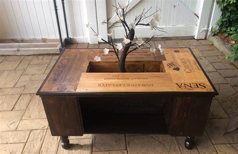 Table Avec Caisse De Vin by Table Basse Caisse De Vin Po73 Jornalagora