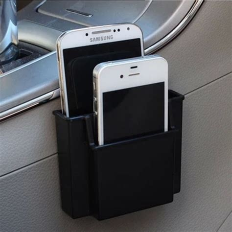 Car Seat Organizer Mobil Multifungsi Tas Aksesoris Mobil aliexpress buy multifunctional mini car cell phone holder black mobile phone charge box
