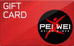 Pei Wei Gift Card - buy pei wei asian diner gift cards raise