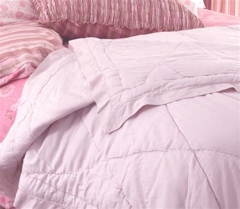 Sateen Coverlet Blush Sateen Coverlet Modern Quilts And Quilt