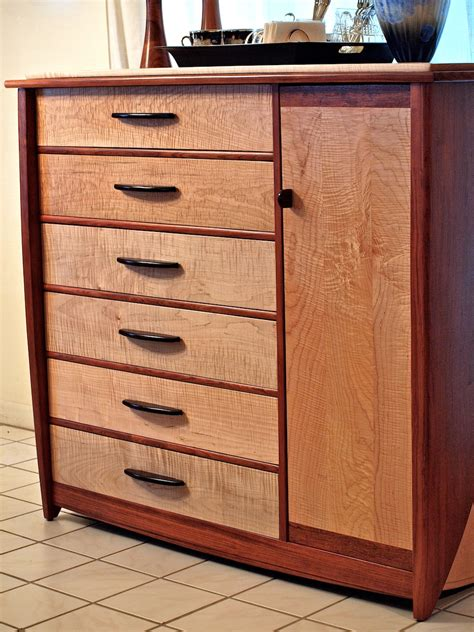 How To Make A Wooden Dresser by Custom Handmade Dresser In Bubinga Curly Maple Louis