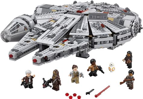 Chess Sets by Lego Star Wars Episode Vii Millennium Falcon 75105