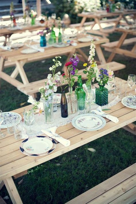 Best 20  Picnic Table Centerpieces ideas on Pinterest