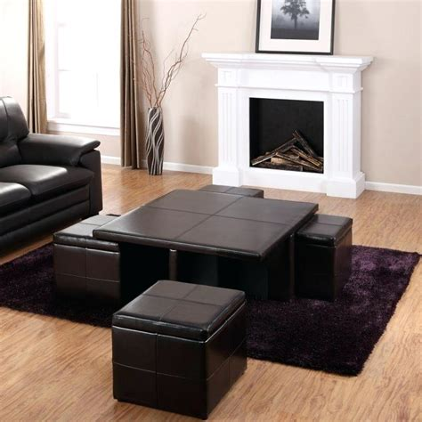 colored leather ottoman colored black leather ottoman coffee table