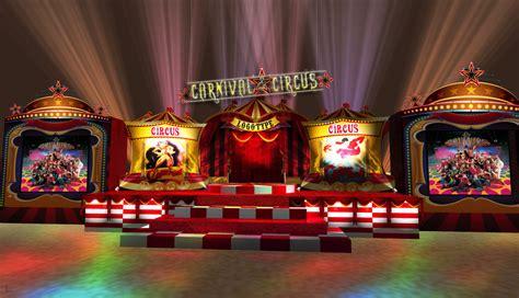 circus theme set design  bryan   coroflotcom