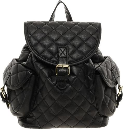 Tas Branded Moschino Mini Flap Gold Black asos mini quilted backpack in black lyst