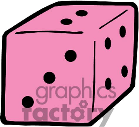 pink bunco clipart