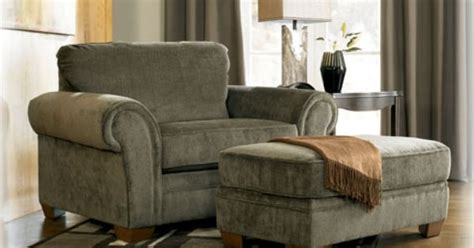 Overstuffed Chair And Ottoman Set Kirkwood Overstuffed Chair Home Decor Overstuffed Chairs Charcoal And