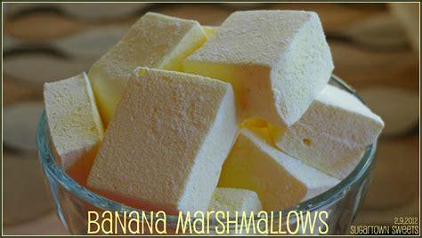Banana Marshmallow sugartown banana marshmallows