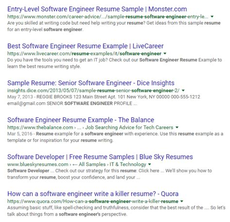 100 sle software engineer resume computer engineer resume sle gallery creawizard