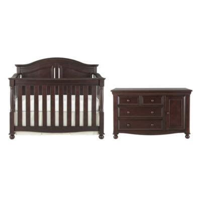 Bedford Baby Crib Bedford Monterey 3 Pc Baby Furniture Set Chocolate