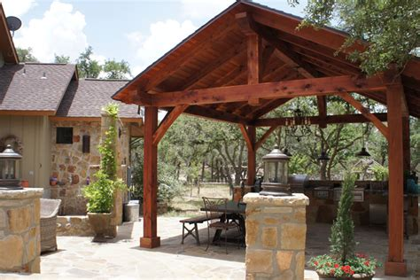 Backyard Pavilions by Pavilions San Antonio Outdoor Pavilion Covered Patio