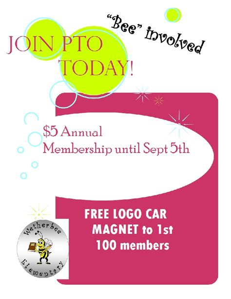 Join Pta Flyer Template