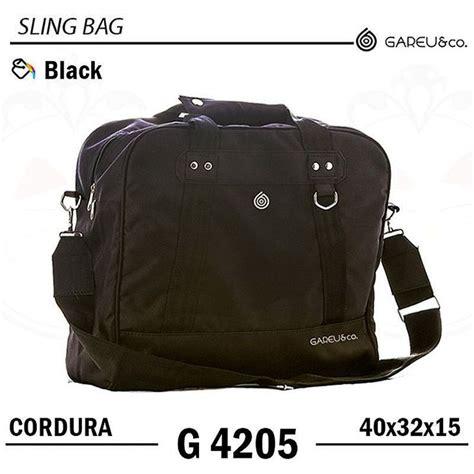 Tas Slingbag 1288 tas selempang sling bag laptop series cordura black gareu g4205 warna black bahan cordura