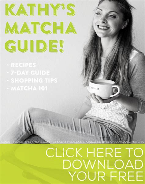 kathy s kathy s matcha guide free download