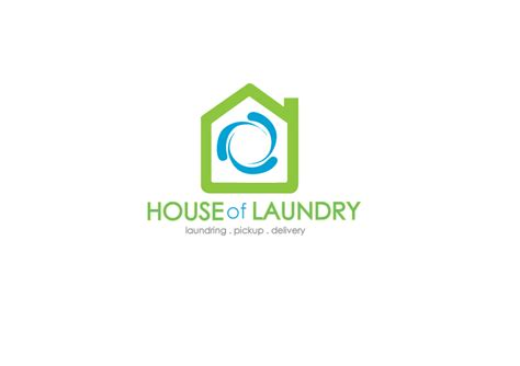 logo design laundry service house of laundry logo by bakausachan on deviantart