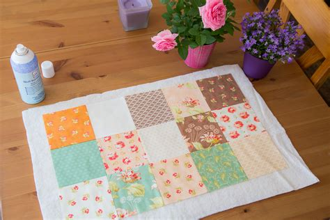 Patchwork Sewing - new patchwork sewing mat for the sewing machine