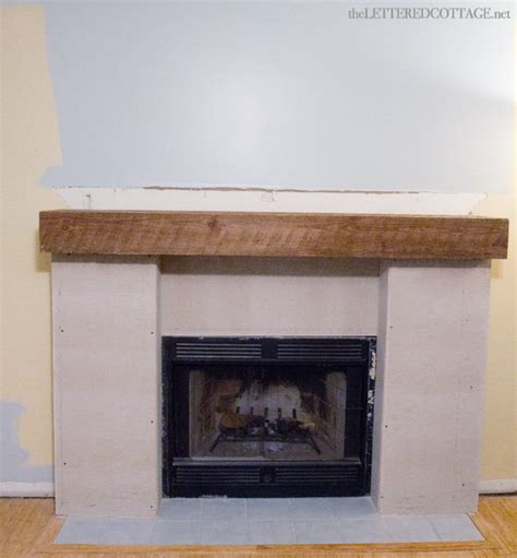 The Lettered Cottage Fireplace Makeover by Keith S Fireplace Makeover Part One The Lettered Cottage