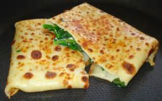 Spinach and ricotta cheese crepe recipe