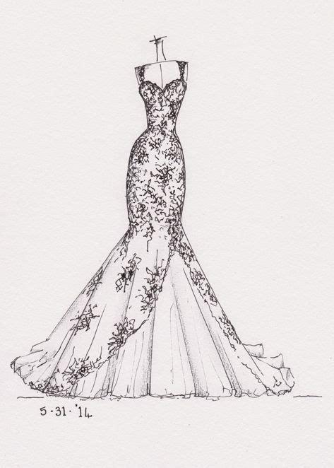 fashion design notes marriage dress sketches buscar con google pinteres
