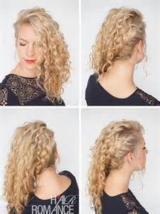 hair in days 30 curly hairstyles in 30 days day 10 hair romance