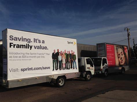 mobile billboard advertising mobile billboard truck advertising sprint billboard truck