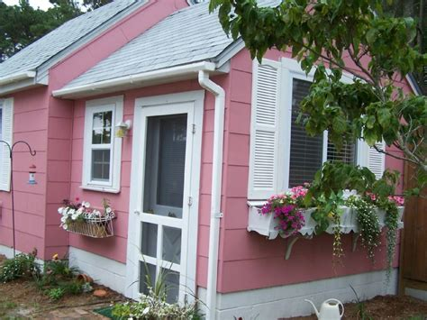 Chesapeake Bay Cottage by Exterior Pink Cottage
