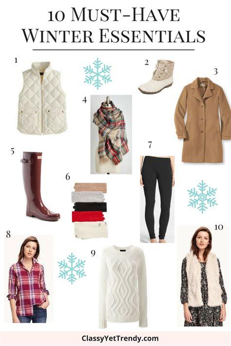 10 Must Winter Accessories by 10 Must Winter Essentials Yet Trendy