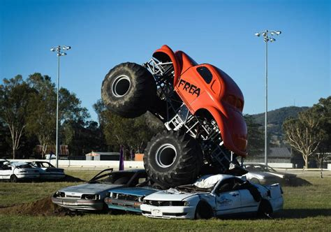 monster truck show sydney monster crowds for trucks the border mail