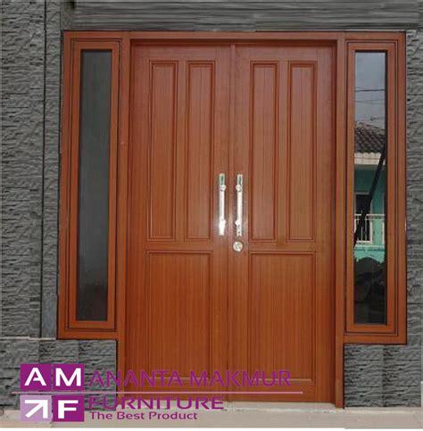 desain pintu depan rumah sederhana desain pintu home design idea