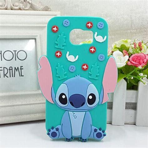 Samsung Note 5 Stitch 3d Karakter Silicone Casing T1310 1 samsung galaxy s6 edge s6 edge plus stitch silicone 3d phone