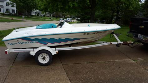 sea ray jet boat f 14 sea ray sea rayder jet boat ohio game fishing your