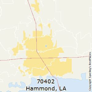 louisiana map hammond best places to live in hammond zip 70402 louisiana