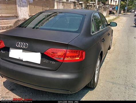 audi a4 matte black audi a4 need a matte black finish page 2 team bhp