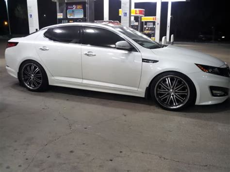 Kia Optima Wheel Size Kia Optima Custom Wheels Niche Touring 20x8 5 Et 40