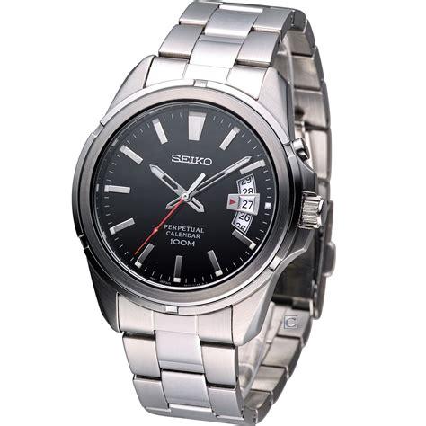 Seiko Classic Snq131p1 Perpetual Calender reloj seiko neo classic snq131p1 acero calendario perpetuo