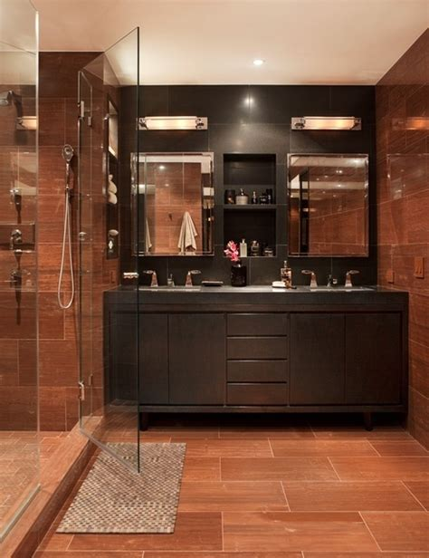 manly decor 97 stylish truly masculine bathroom d 233 cor ideas digsdigs
