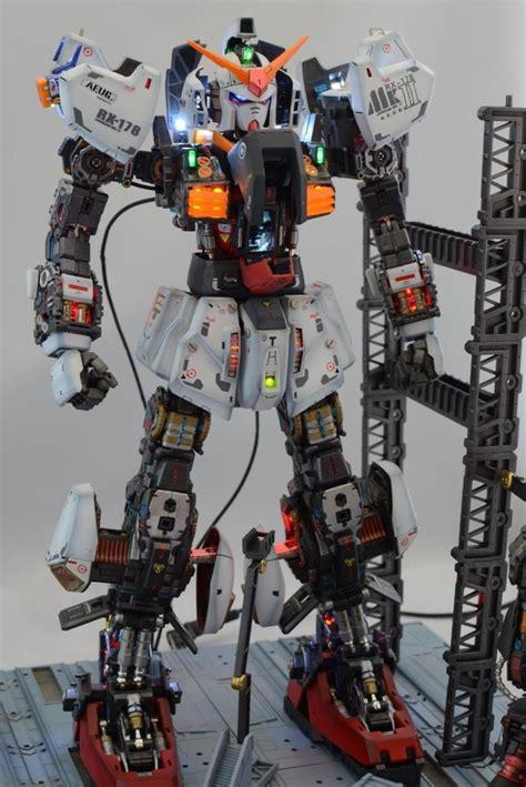 Gundam Mk Ii gundam pg 1 60 rx 178 gundam mk ii aeug diorama build