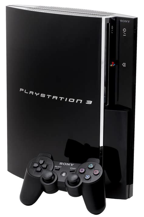console playstation 3 file ps3 console png
