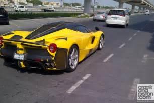 Used Car Testing Dubai Laferrari Testing In Dubai Autoevolution