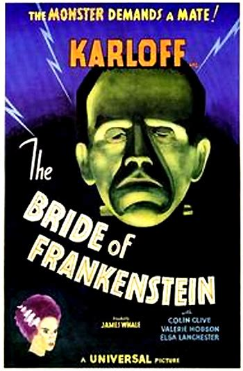 classic hollywood old time monsters return latimes the bride of frankenstein 1935