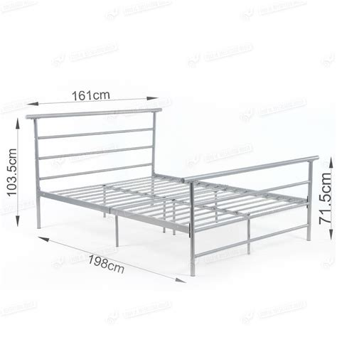 steel bed frames new 5ft bed metal frame steel modern design
