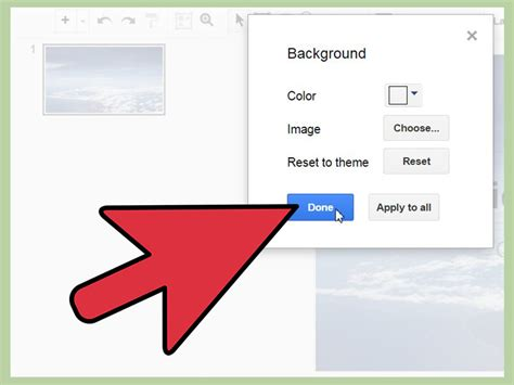 google wallpaper how to change how to change the background on a google presentation