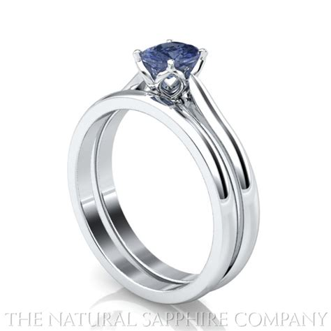 sapphire rings and matching wedding bands the